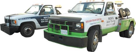 Nick's Towing - Junk Car Removal Vancouver