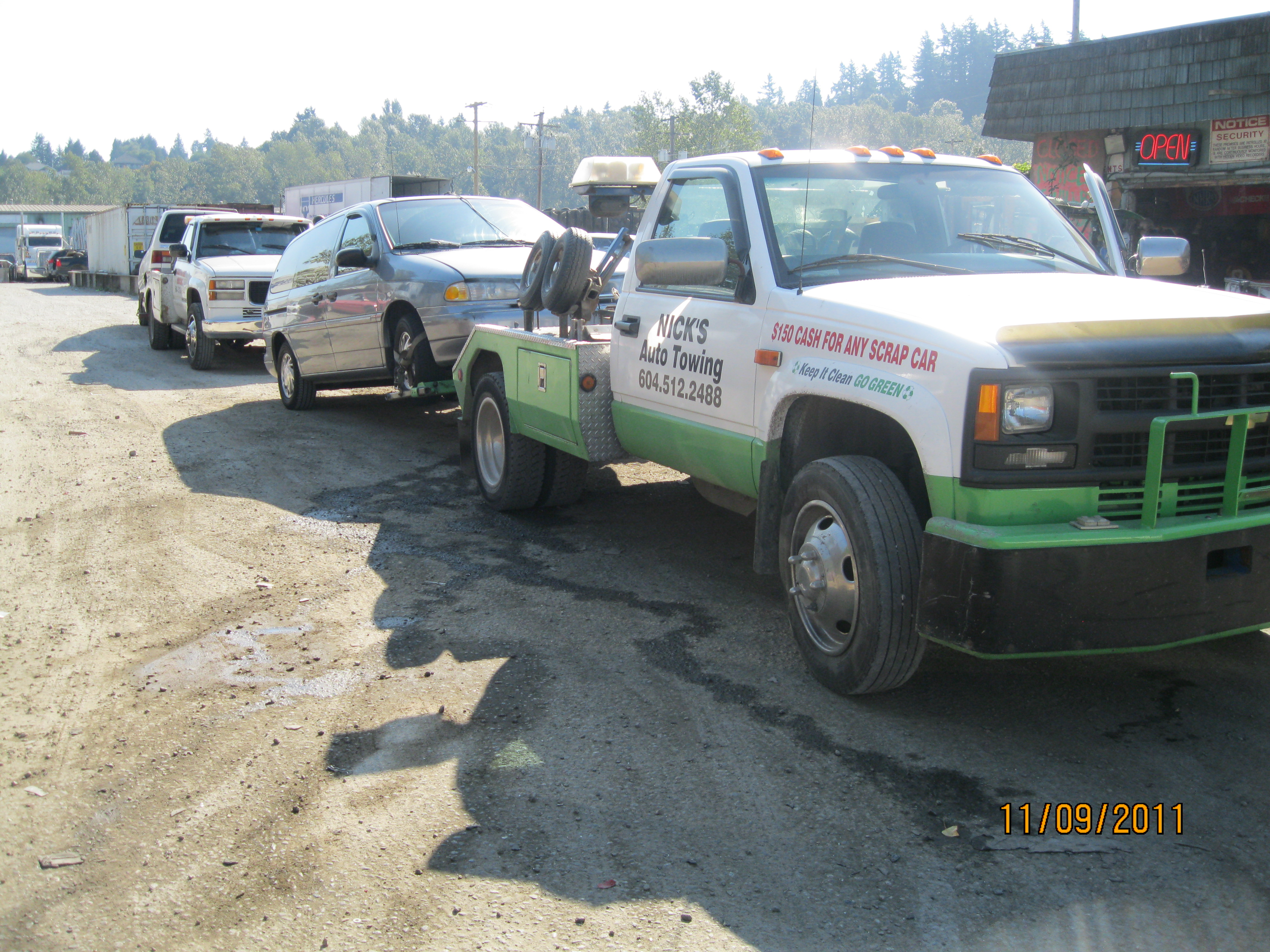 Junk Auto Recycling In Mission | Junk Car Removal